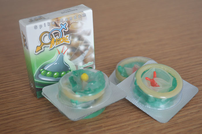 Flavoured Ultra Sensitive Condoms With Big Dotted Spike Special Designed
